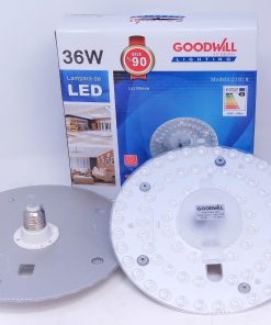 Lámpara led de 36 watts