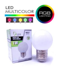 Foco led multicolor