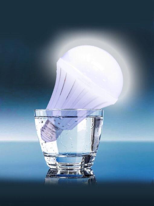 Foco led recargable (agua) 12W