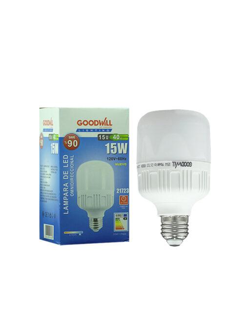 Lámpara led 15 watts