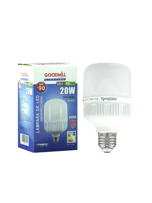 Lámpara led 20 watts