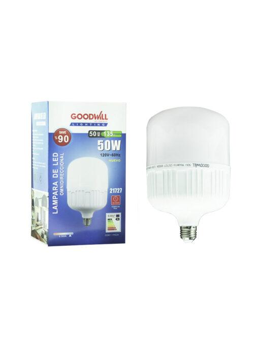 Lámpara led 50 watts