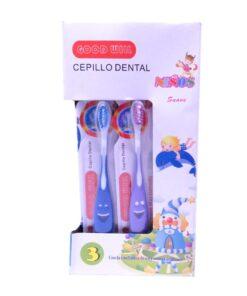 Cepillo dental para niños paquete