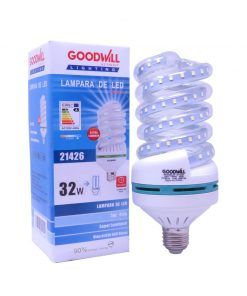 Lámpara led espiral 32 watts