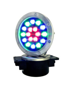 LAMPARA DE LED A PRUEBA DE AGUA DE 18W RGB