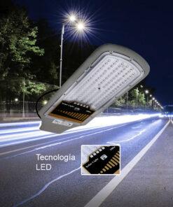 Luminaria urbana solar 100w