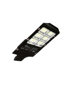 Luminaria urbana solar de 500 watts de potencia + panel solar + control remoto.